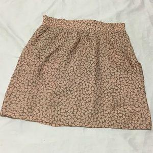 The Addison Story SILK Mini skirt front pockets